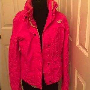 Hollister Hot Pink All Weather Jacket